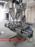 Máquina de rellenar de los carriles 10-2000g del polvo dual automático del chocolate