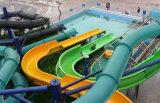 Акватическое скольжение воды стеклоткани парка