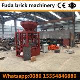 Máquina de fatura de tijolo concreta do Paver do bloqueio máquina contínua oca do bloco