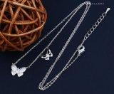 Collana calda dei monili di Zircon della farfalla di modo di vendita 00122