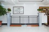 Balcón decorativo de acero galvanizado de alta calidad 15 que cercan con barandilla de la aleación de aluminio de Haohan