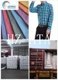 CVC Shirtingのための60/40のオックスフォードファブリック卸売の方法Yarn-Dyedファブリック