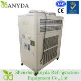 Refrigerador de água de refrigeração ar da baixa temperatura com rolo ou compressor de pistão
