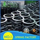 Спиральная пружина изготовления покрашенная таможней большая стальная спиральн отсутствие минимума