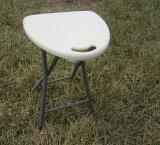 휴대용 죄는 Outerdoor 백색 빨강 플라스틱 접히는 발판 Foldable 의자