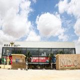 スーパーマーケットのためのプレハブの鉄骨構造の商業建物