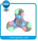 Girador claro colorido novo da inquietação do diodo emissor de luz do Tri-Girador para brinquedos do EDC