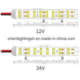 24VDC UL het Dubbele LEIDENE van de Lijn SMD 1210 Licht van de Strook