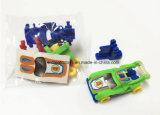 子供のためのDIYアセンブリおもちゃの跳ね上がりのすべる車