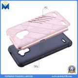 Cas protecteur de Plein-Corps antichoc lourd hybride de luxe de téléphone cellulaire avec la protection dure de choc de la couche duelle PC+Soft TPU pour la perfection de la galaxie J7 de Samsung