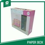 Boîte d'emballage en carton plastique pour expédition