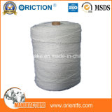 4300 productos de la fibra de cerámica del hilado de la fibra de cerámica del hilado de materia textil del aislante