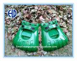 Ветроуловители листьев сада зеленого цвета