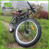 Hoher Grad schwarzes/rotes/weißes/blaues/grünes E-Fahrrad fettes Fahrrad des Gummireifen-E für Verkauf