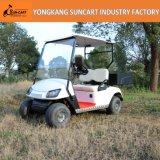 Carrello di golf di impianto elettrico, carrello di golf di 2 Seater con il contenitore posteriore di carico, baracca dell'automobile di golf di Suncart mini piccola