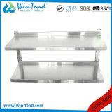 ステンレス鋼の台所Backsplashの調節可能な浮遊壁の棚