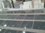 Vía el azulejo de suelo negro gris del granito de la nieve de Lactea