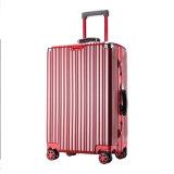 旅行紡績工の荷物一定袋のABSトロリーはスーツケースのTsaロックを続けていく