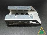Части изготовления металлического листа высокого качества алюминиевые с вырезыванием/пробивать лазера
