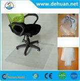 PVC 의자 매트, 싼 지면 단단한 매트, 주문을 받아서 만들어진 의자 문 지면 매트