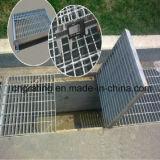 Rejilla de acero en frío de la cubierta de los drenes para el uso de interior