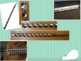 SDS Plus Broca S4 Cabeza cruzada, cabeza plana S4 Punta de una sola flauta roja
