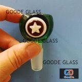 De Waterpijp van het Glas van de Fabrikant van de kleur werpt de Rokende Fabriek van de Groothandelaar van de Kom