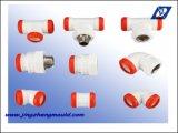 Moulage d'ajustage de précision de pipe d'injection de pp