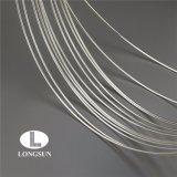 柔らかい銀はスイッチおよびリレーで使用された電気接触のためのワイヤーをめっきした