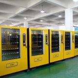 Petiscos e máquina de Vending baratos dos doces com sistema refrigerando