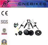 Kit elettrico ad alta velocità della bici di 48V 750W con il METÀ DI motore di Bafang