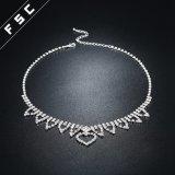 Jewellery формы сердца ювелирных изделий способа Fsc Bridal установил в кристалл