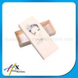 Rectángulo de empaquetado del lustre del regalo cosmético de encargo del papel