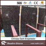 Lastre scure di pietra naturali di marmo di Emperador per la parete ed il pavimento