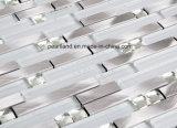 Плитка мозаики алюминиевого смешивания плитки украшения стены стеклянная