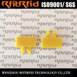 Etiqueta reutilizable sostenida de encargo del lavadero de la frecuencia ultraelevada de Woterproof RFID