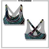 Бюстгальтер спортов повелительниц верхней части йоги оптовой одежды разминки женщин изготовленный на заказ