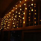 Luz feericamente do sincelo do diodo emissor de luz da luz de Natal da decoração ao ar livre