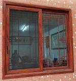 Fabrik-Großverkauf-preiswertes Aluminiumlegierung-schiebendes Glasfenster mit Stahlineinander greifen