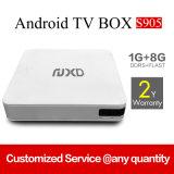 Android 5.1 1GB /8GB da caixa X8 da tevê de Amlogic S905 com a caixa esperta Output HDMI dupla da tevê de WiFi 4k Google da faixa de Bluetooth no estoque
