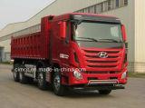 Nuevo carro de vaciado de Hyundai 8X4 con Hyundai 410, motor de 440HP Powertec para la venta