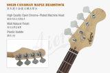 Aiersi toute la guitare 4-String basse électrique superbe solide de Pj (précision/jazz) avec le certificat de BV/SGS