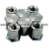 Ecrou hexagonal hexagonal en métal