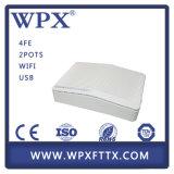Wpx 4fe Epon ONU avec le VoIP et le WiFi