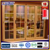 Le meilleur prix de la porte coulissante de double balcon en verre en aluminium