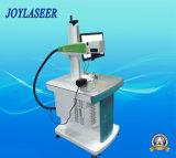 La fabricación experta Fin-Bombeó la máquina de la marca del laser para los materiales nos-metálico