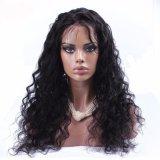 Kinky курчавый полный парик шнурка/парик волос /Human парика шнурка передний
