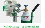 Cilindros de respiração 3.4L-5L-6.7L-10L-13.4L do oxigênio médico