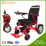 Кресло-коляска портативной силы сплава Jbh Alumium электрическая