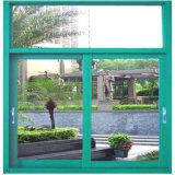 Fabbrica di alluminio della finestra di vetro di scivolamento del blocco per grafici di Guangzhou Cina